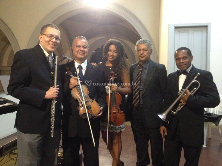 Quinteto Angellus de Sexteto Musical Angellus