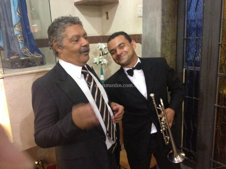 Tecladista e trompetista