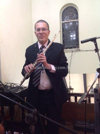 Claudio flautista