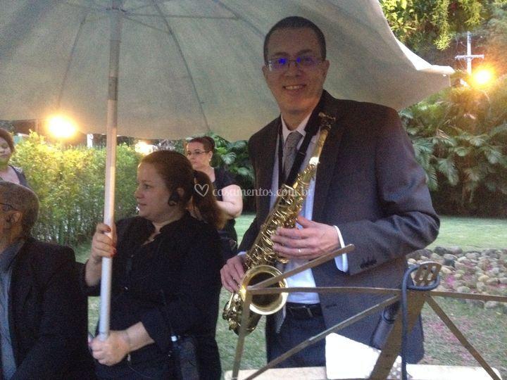 Trio Sax, Violino e Teclado