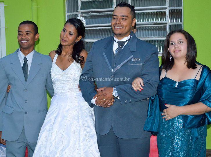 Casamento Mauricio e Keyla