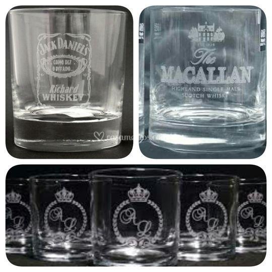 Copo de Whisky Jateado