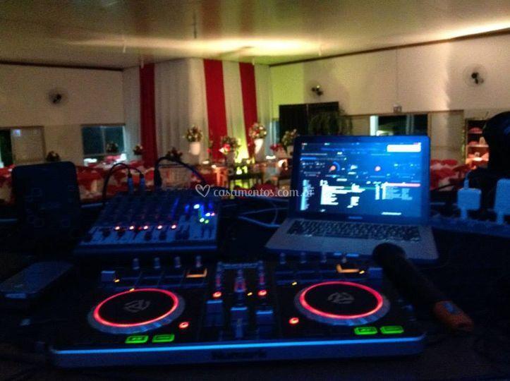 Equipamento para o DJ
