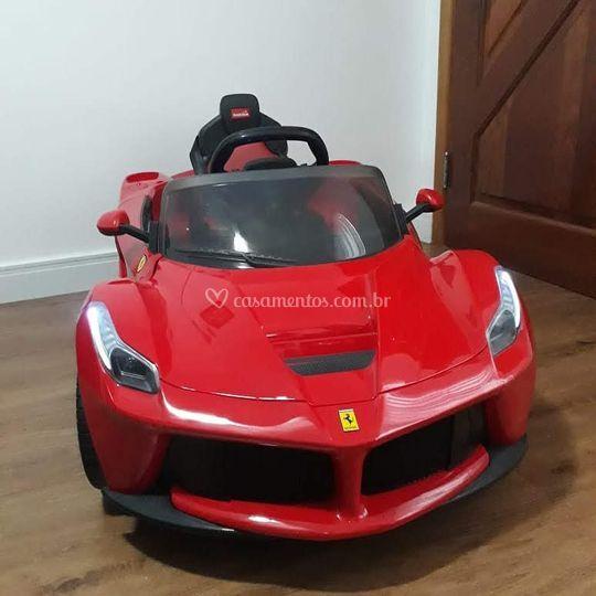 Nossa nova Ferrari Vermelha