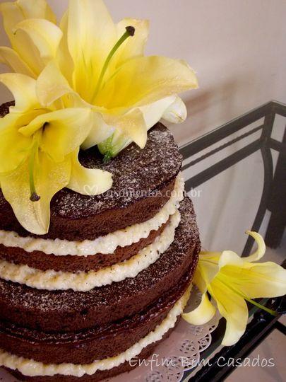 Naked Cake noivado