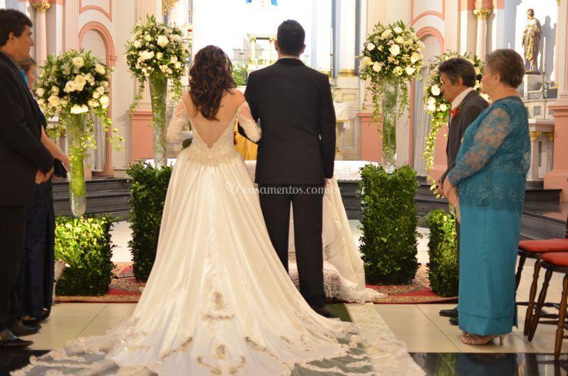 Casamento de Camila
