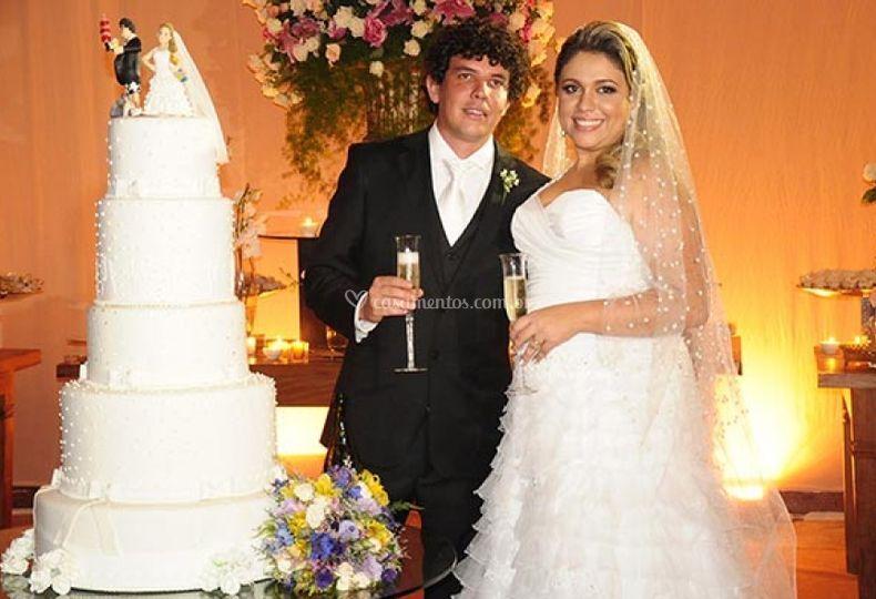 Bolo de casamentos