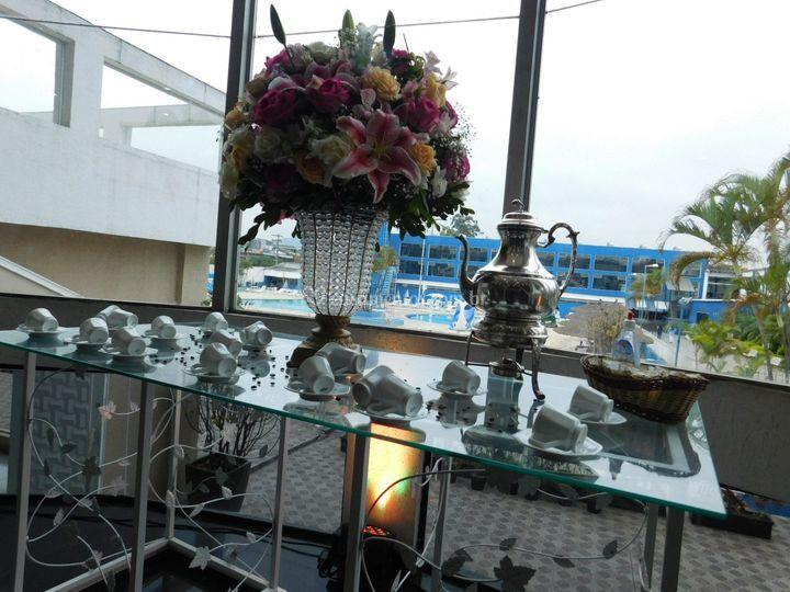 Mesa do cafe