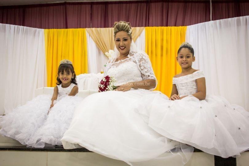 Noiva e daminhas klissia