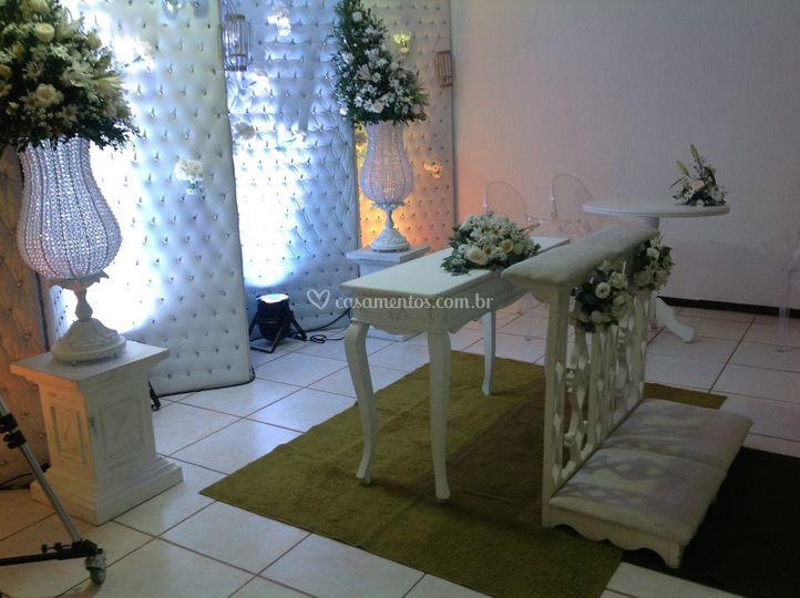 Altar branco