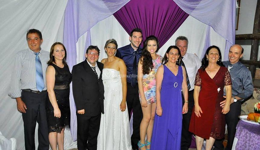 Convidados do casamento