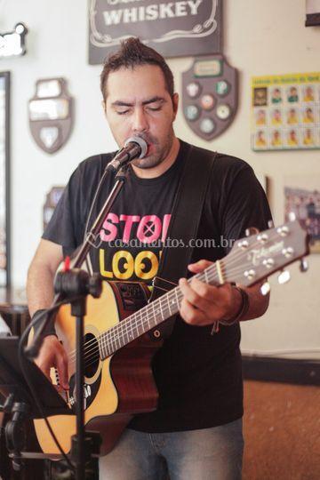 Recepção voz e violão