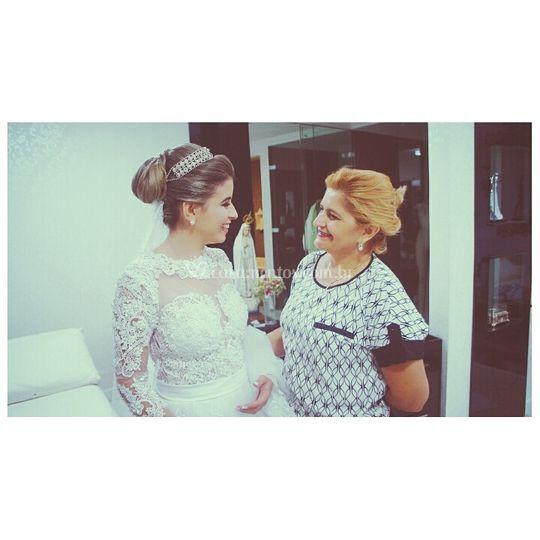 Fátima Melo e noiva