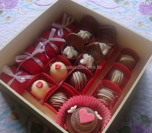 Caixas de doces