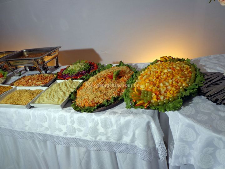 Mesa do buffet