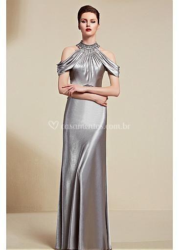 Vestido Longo Silver