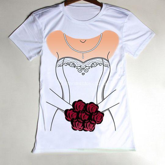 Camiseta para noiva!