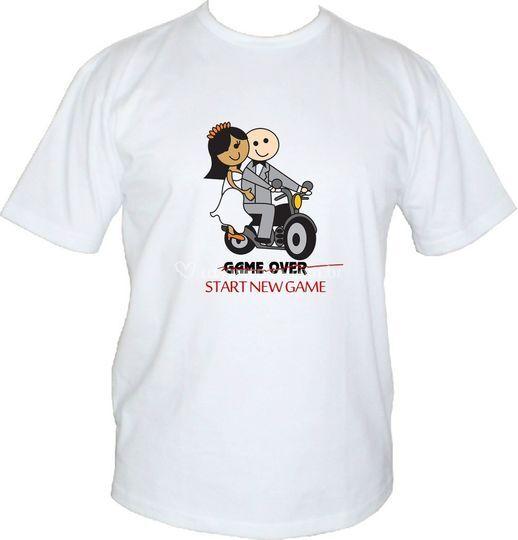 Camiseta Noivado!