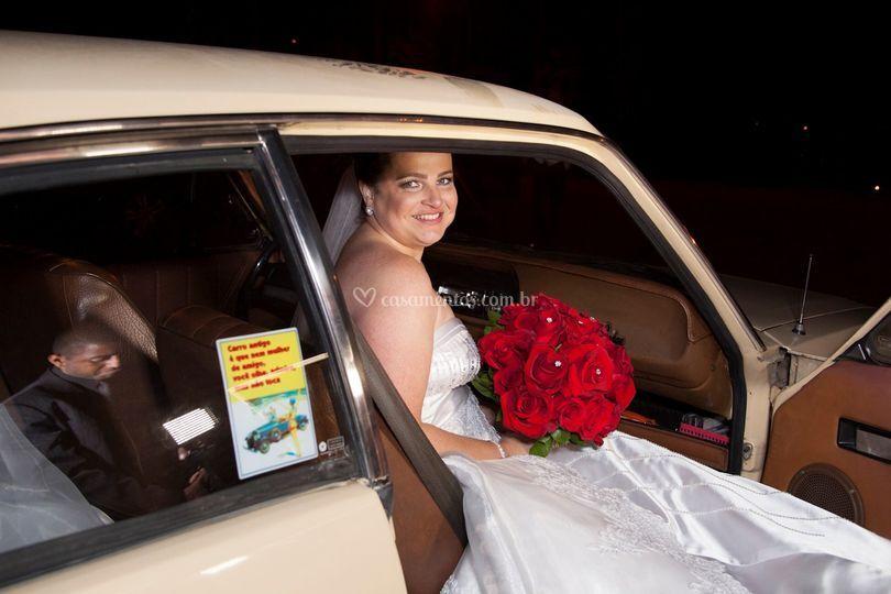 Noiva e veículo 1