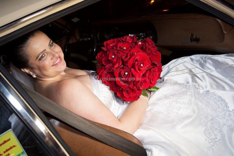 Noiva e veiculo 4