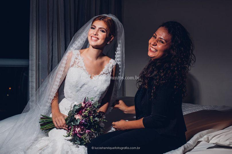 Eu e Noiva Natallia