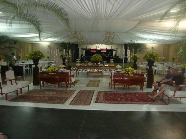 Vista parcial salão