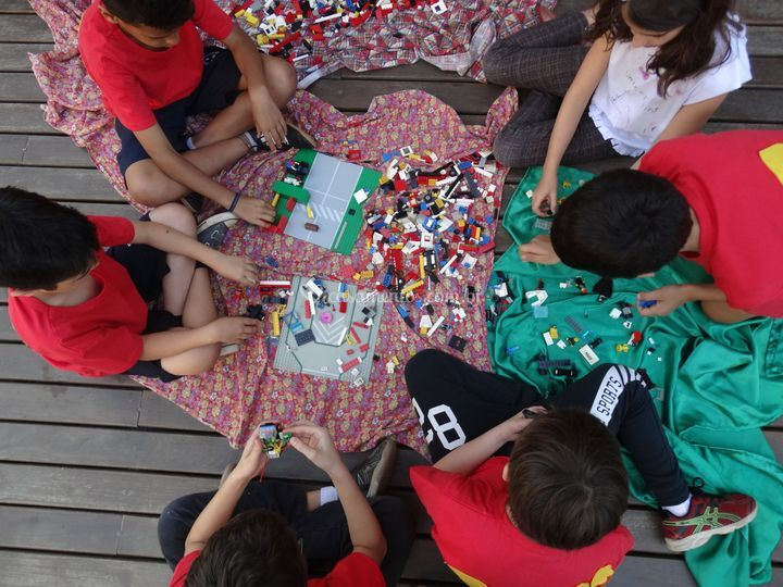 Lego de montão!