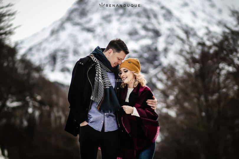 Pre wedding patagonia