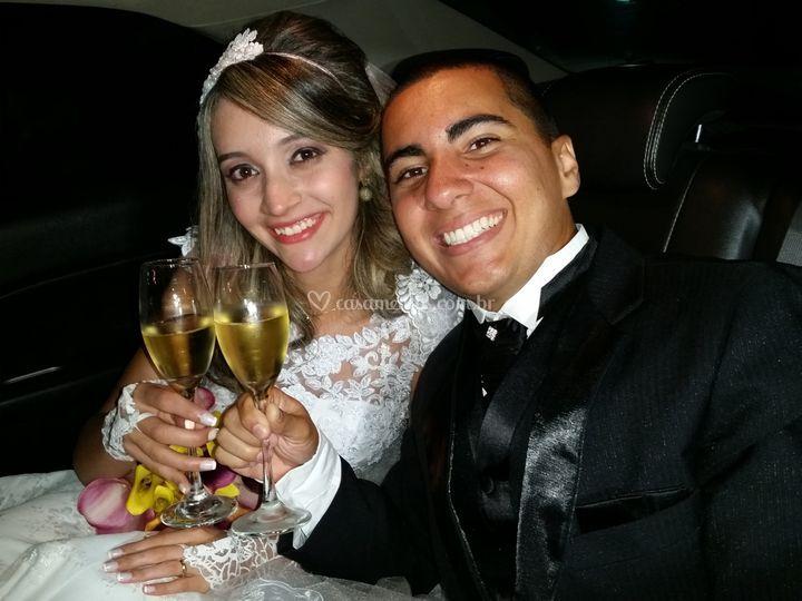 Larissa e Cristiano