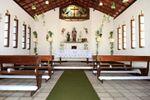 Interior da capela de Oficina das Flores