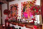 Mesa de doces indiana de Oficina das Flores