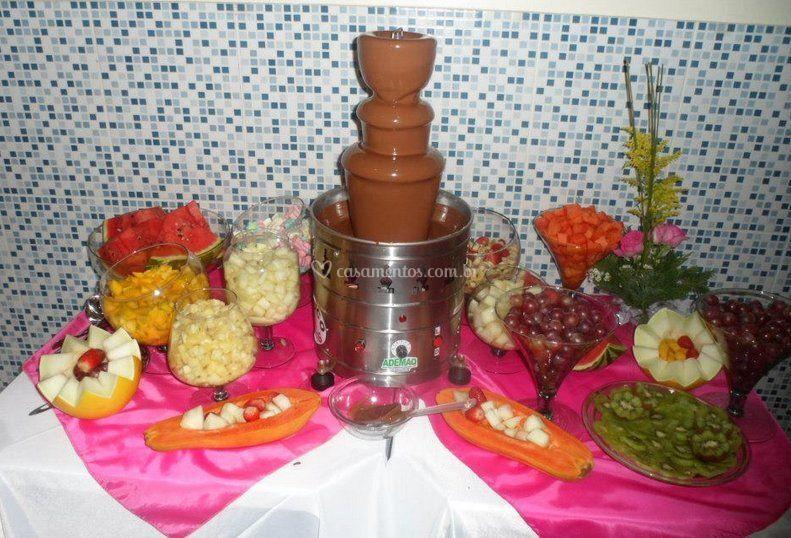 Cascata de chocolate