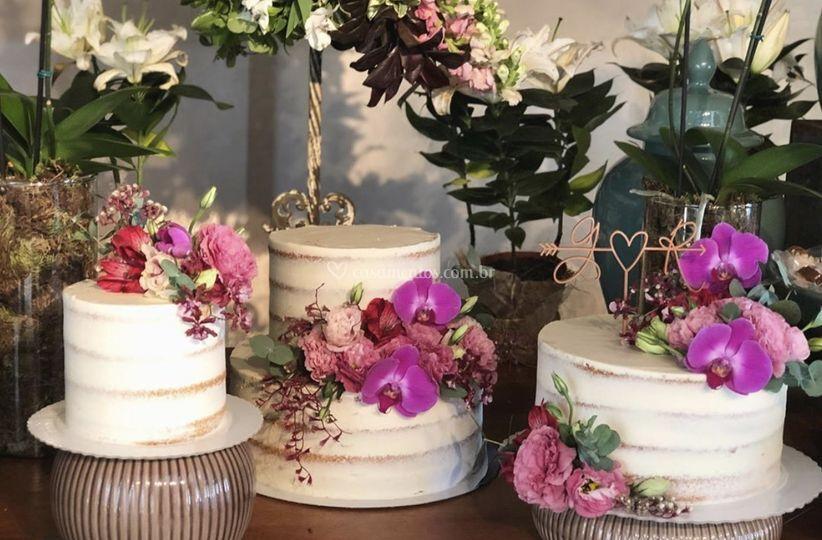 Composição de bolos