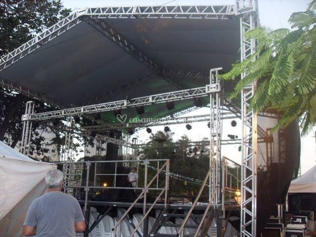 Estruturas e tendas