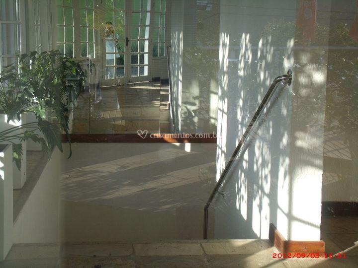 Entrada do salão