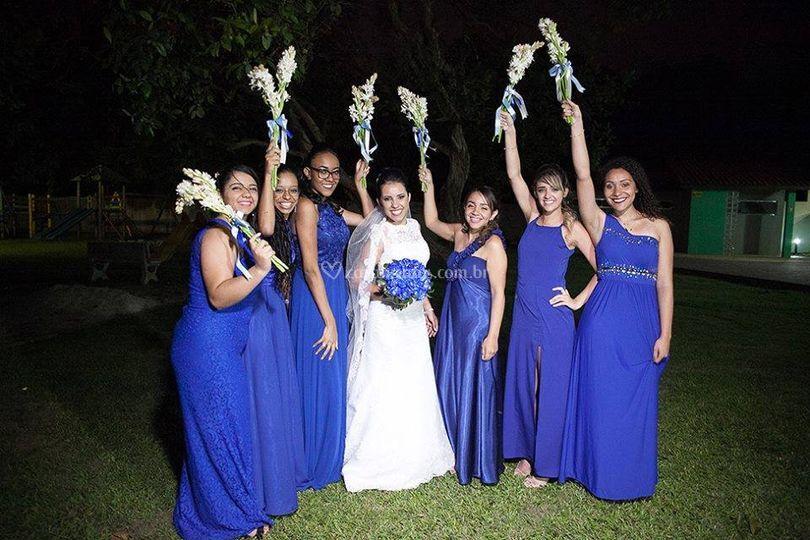A noiva e suas mademoiselles
