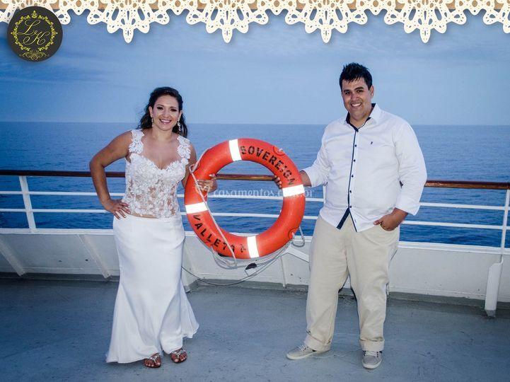 Casamento a Bordo do Sovereign