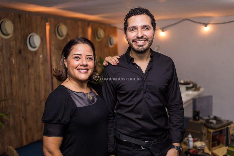 Flávia Dias e Gabriel Dias
