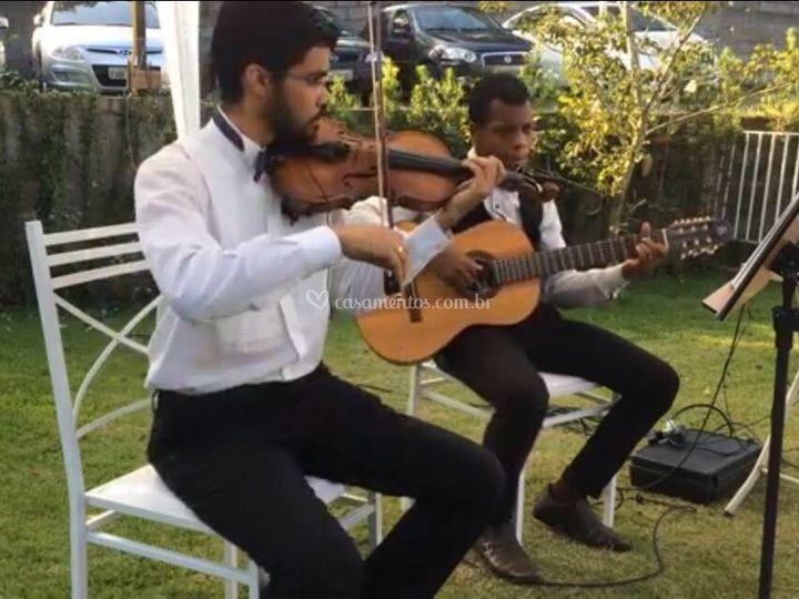 Duo violino e violão