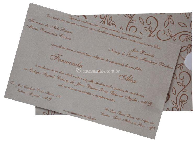 Convite Fronha