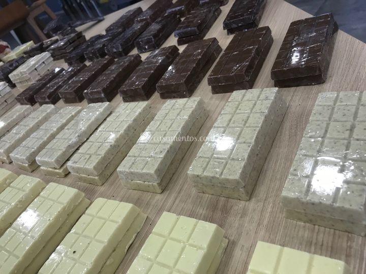 Tabletes de chocolate (100g)