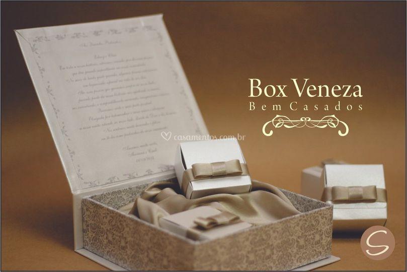 Caixa Veneza - Bem Casado