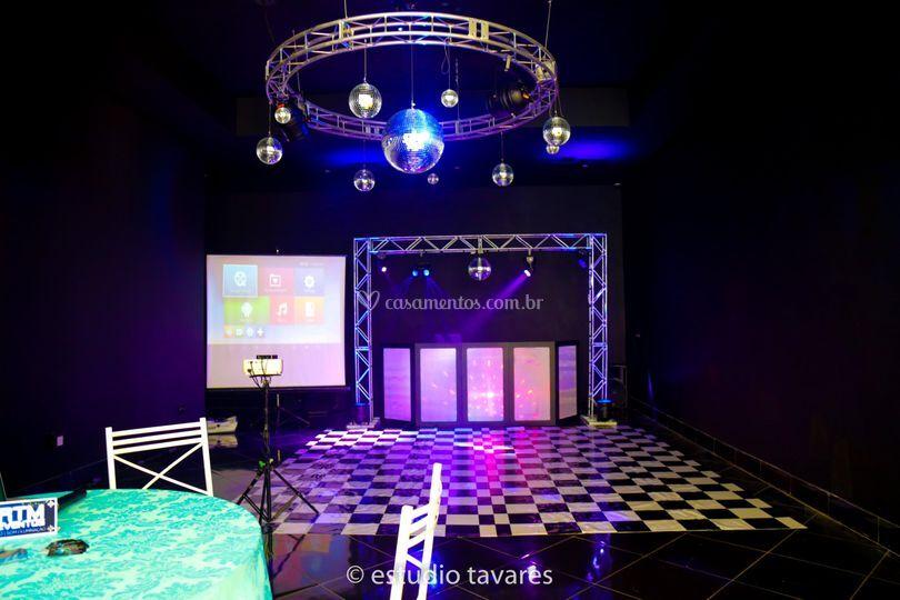 Pista de Dança Espaço do DJ