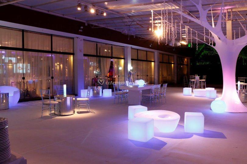 Lounges para eventos e festas.