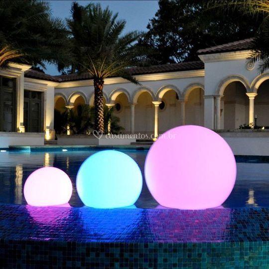 Esferas Led RGB