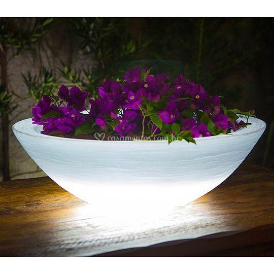Vaso de Mesa Led RGB