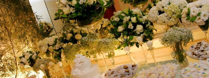 Flores e doces