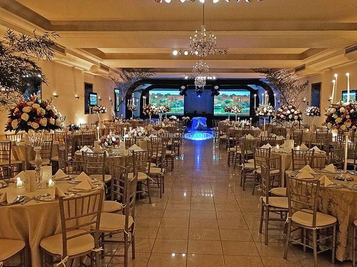 Fiorelo buffet salão principal