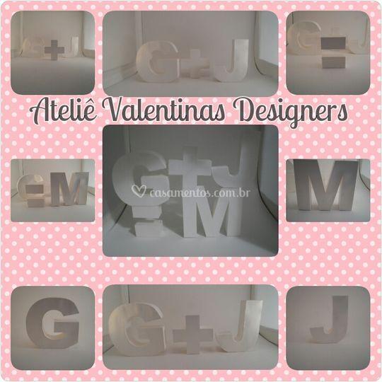 Letras para decoração