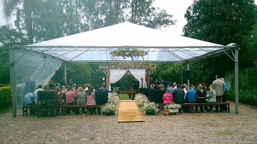Cerimônia realizada